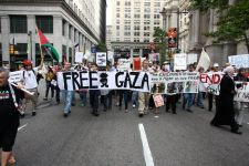 Protest Against Israeli Flotilla Raid
